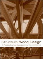 Cover image for Structural wood design : a practice-oriented approach using the ASD method