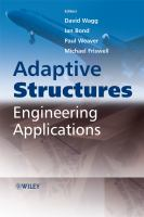 Cover image for Adaptive structures : engineering applications