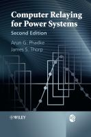 Cover image for Computer relaying for power systems