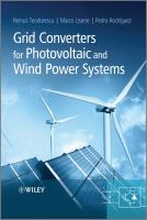 Cover image for Grid converters for photovoltaic and wind power systems