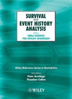 Cover image for Survival and event history analysis