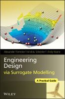Cover image for Engineering design via surrogate modelling : a practical guide