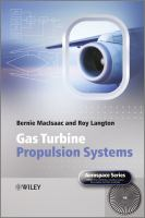 Cover image for Gas turbine propulsion systems