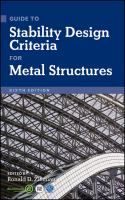 Cover image for Guide to stability design criteria for metal structures