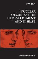 Cover image for Nuclear organization in development and disease