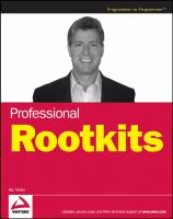 Cover image for Professional rootkits