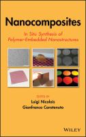 Cover image for Nanocomposites : in situ synthesis of polymer-embedded nanostructures