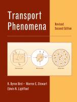 Cover image for Transport phenomena