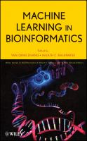 Cover image for Machine learning in bioinformatics