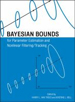 Cover image for Bayesian bounds for parameter estimation and nonlinear filtering /tracking