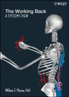 Cover image for The working back : a systems view