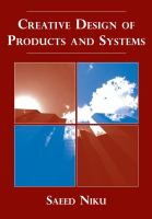 Cover image for Creative design of product and systems