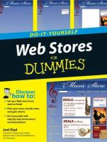 Cover image for Do-it-yourself web stores for dummies