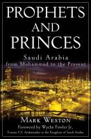 Cover image for Prophets and princes : Saudi Arabia from Muhammad to the present