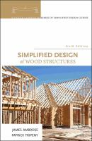 Cover image for Simplified design of wood structures