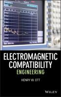 Cover image for Electromagnetic compatibility engineering