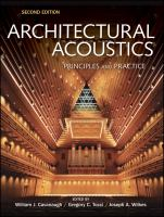 Cover image for Architectural acoustics : principles and practice