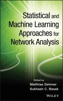 Cover image for Statistical and machine learning approaches for network analysis