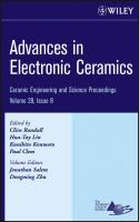 Cover image for Advances in Electronic Ceramics : a collection of papers presented at the 31st International Conference on Advanced Ceramics and Composites, January 21-26, 2007, Daytona Beach, Florida