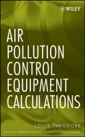 Cover image for Air pollution control equipment calculations