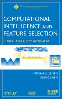Cover image for Computational intelligence and feature selection : rough and fuzzy approaches