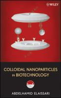 Cover image for Colloidal nanoparticles in biotechnology