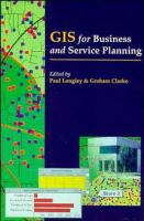 Cover image for GIS for business and service planning