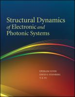 Cover image for Structural dynamics of electronic and photonic systems