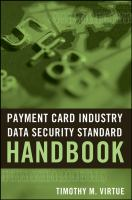 Cover image for Payment card industry data security standard handbook