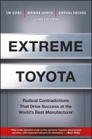 Cover image for Extreme toyota : radical contradictions that drive success at the world's best manufacturer