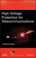 Cover image for High voltage protection for telecommunications