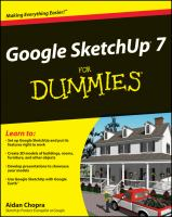 Cover image for Google sketchUp 7 for dummies