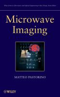 Cover image for Microwave imaging