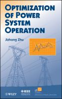Cover image for Optimization of power system operation