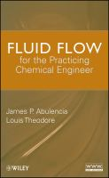 Cover image for Fluid flow for the practicing chemical engineer