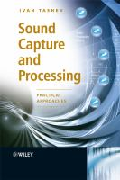 Cover image for Sound capture and processing : practical approaches