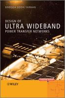 Cover image for Design of ultra wideband power transfer networks
