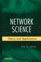 Cover image for Network science : theory and applications