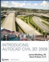 Cover image for Introducing AutoCAD civil 3D 2009