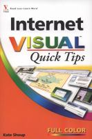 Cover image for Internet visual quick tips