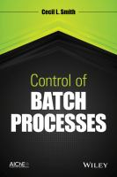 Cover image for Control of batch processes