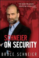 Cover image for Schneier on security