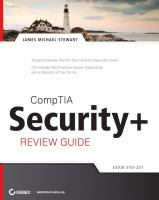Cover image for CompTIA security+ review guide