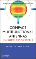 Cover image for Compact multi-functional antennas for wireless systems