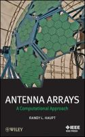 Cover image for Antenna arrays : a computational approach