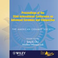 Cover image for Proceedings of the 32nd international conference on advanced ceramics and composites