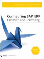 Cover image for Configuring SAP ERP financials and controlling