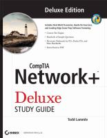 Cover image for CompTIA network+ deluxe study guide