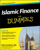 Cover image for Islamic finance for dummies