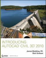 Cover image for Introducing Autocad Civil 3D 2010
